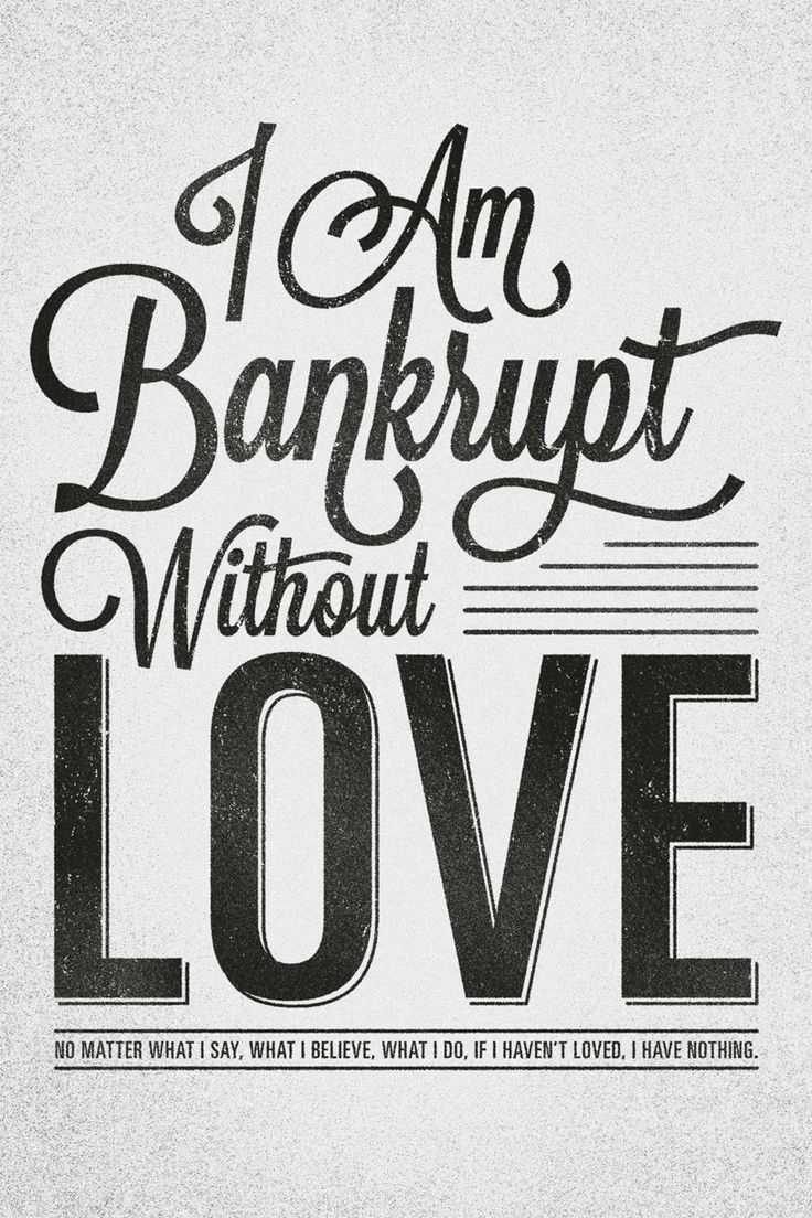 1 Corinthians 13...I really love this!
