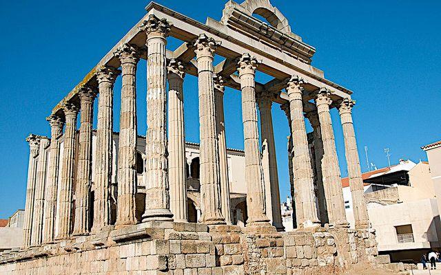 Temple of Diana, Merida, Spain  Flickr  Camino  Pinterest