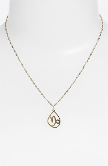 ... Kris Nations 'Capricorn' Necklace available at #Nordstrom #astrology