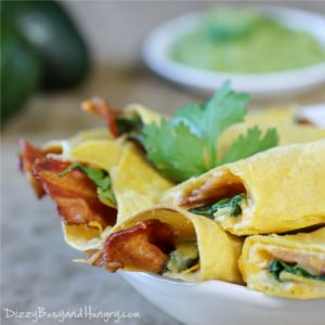 Cheesy Bacon Taquitos «Dizzy Busy and Hungry! @Kristin (Dizzy Busy ...