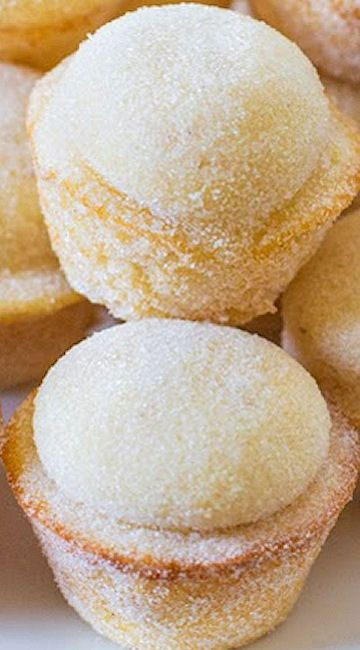 Sugar Donut Muffins | Sweet yummies | Pinterest