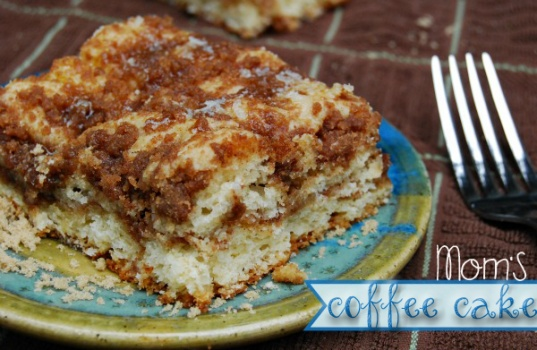 Mom's Coffee Cake. The best ever | Downfall.....FOOD! | Pinterest