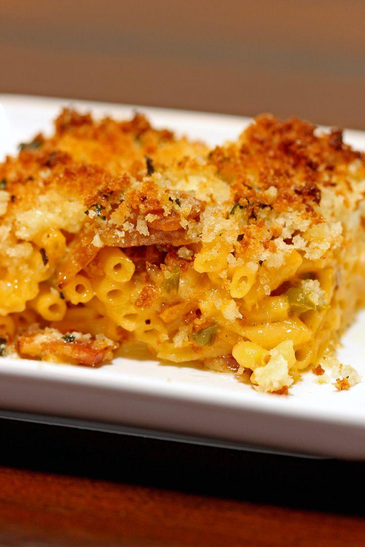 Cheesy Bacon Jalapeño Mac & Cheese Bake - keviniscooking.com