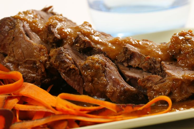 Curry Braised Lamb Leg. Indian flavours are used to braise this lamb ...