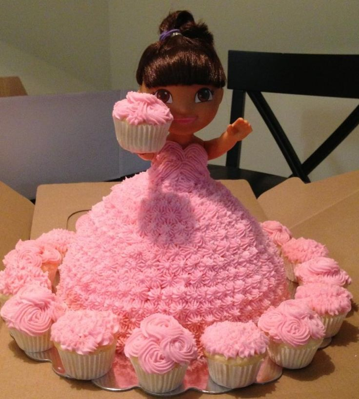 dora doll cake