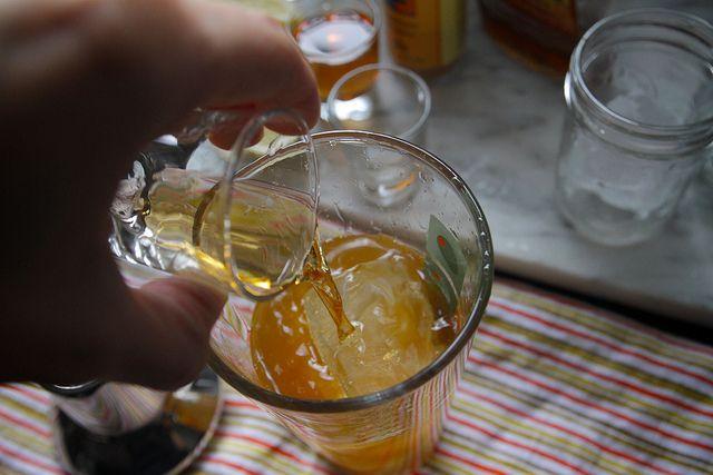 maple bourbon cider | sunshine in the kitchen | Pinterest