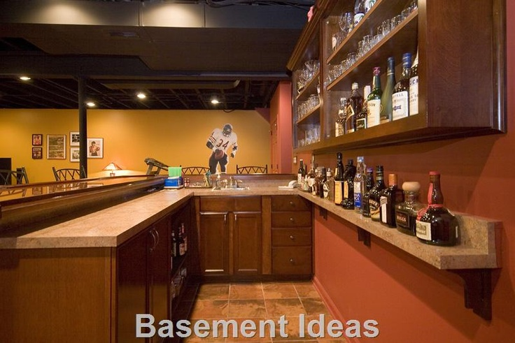 Pin by andrea walsh on basement pinterest for Loft style basement