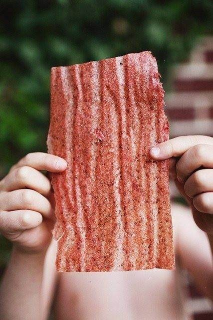 STRAWBERRY FRUIT LEATHER | Favorite Recipes | Pinterest