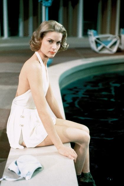Grace Kelly in a promotional photograph for High Society (1956).