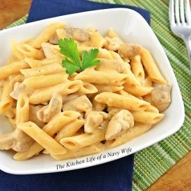 Mexican Penne with Chicken Thighs | All Things Saucy | Pinterest