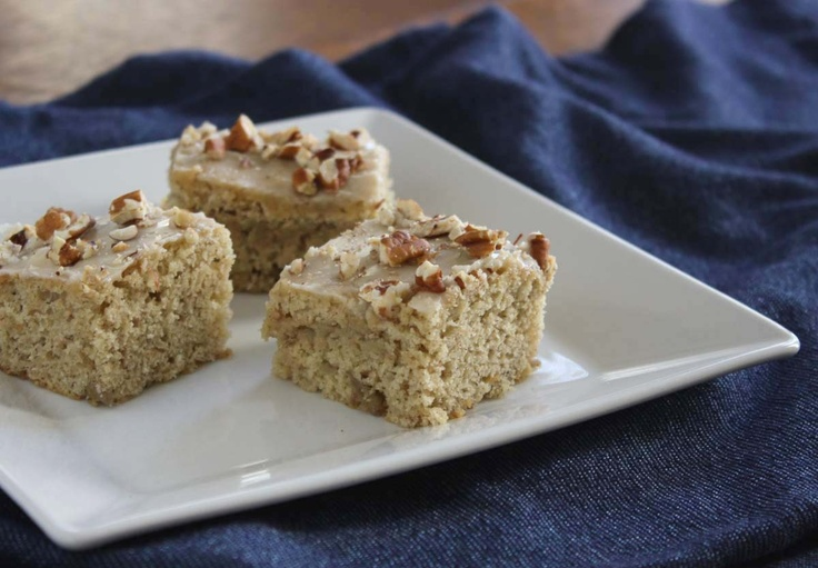 roasted banana bars. browsing recipes right now is making me so hungry ...