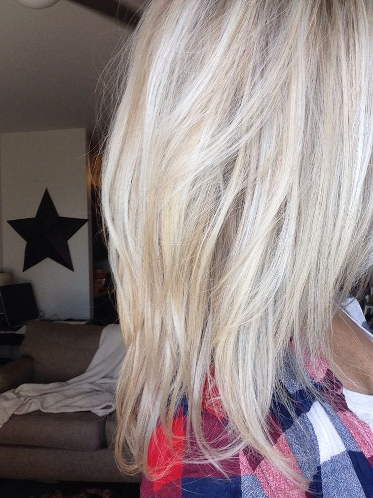 how to turn yellow blonde to white blonde