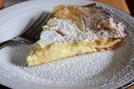 Oven-puffed apple pancake | Recipes | Pinterest