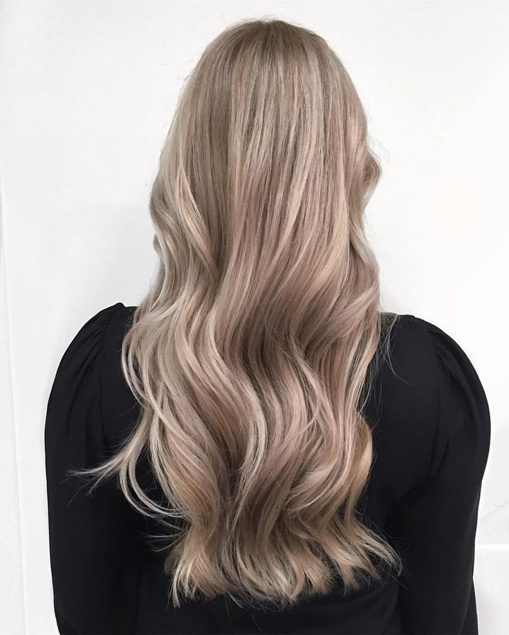 Natural dark dirty blonde hair