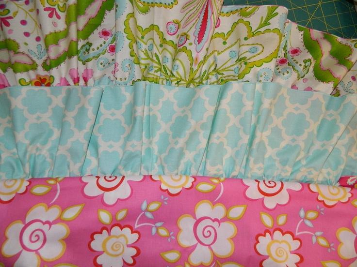 Fabric baby girl nursery pinterest for Baby nursery fabric