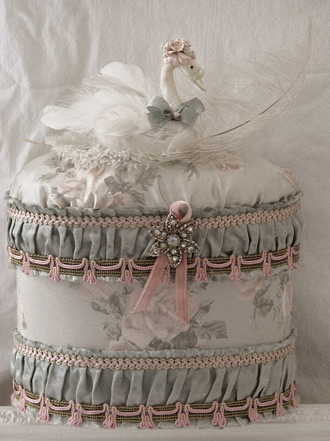 sweet whimsy - a decorated hatbox