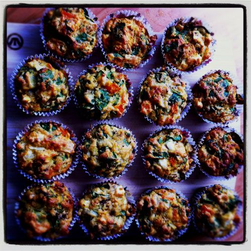 Pumpkin, Spinach & Feta Muffins | Recipes from my blog 'After Taste ...