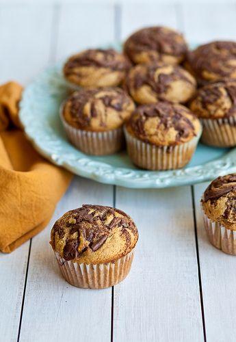 Zucchini Muffins With Nutella Swirl Recipes — Dishmaps