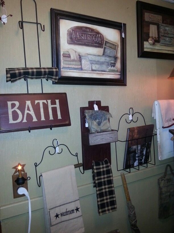 Bathroom Country Home Decor Prim Country Antique Pinterest