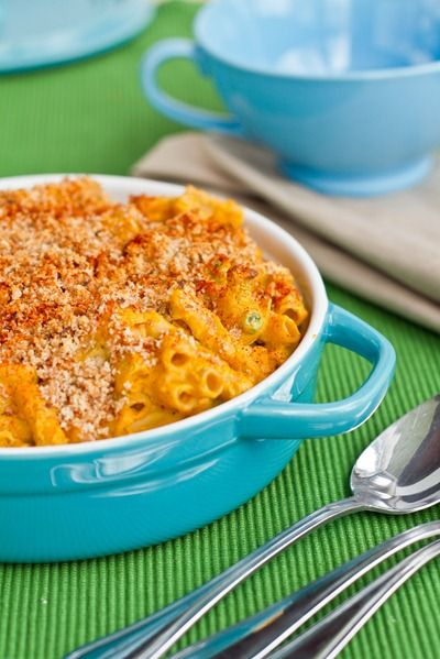 Butternut Squash Mac 'n Cheeze: Two Ways   Awesome   Pinterest