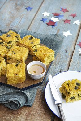 Polenta Cornbread by Marcus Samuelsson via WSJ: Great with butter ...