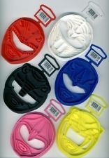 POWER RANGER COOKIE CUTTERS SET OF 6 MADE IN 1995 FOR YOUR LITTLE ...