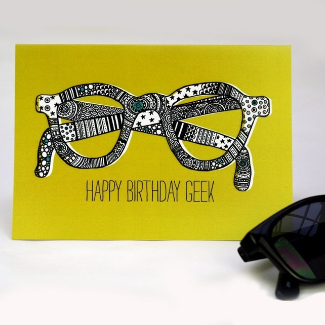 Happy Birthday Geek