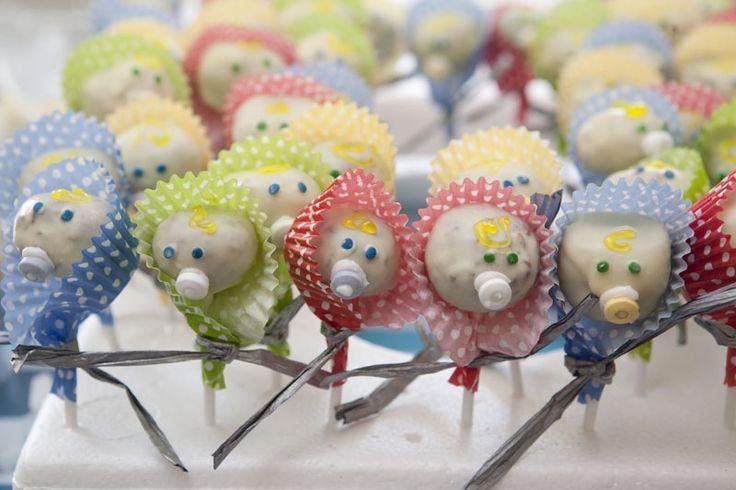 Cake Baby Shower Recipes : Recipe: Carrot cake pops. Baby shower Pinterest