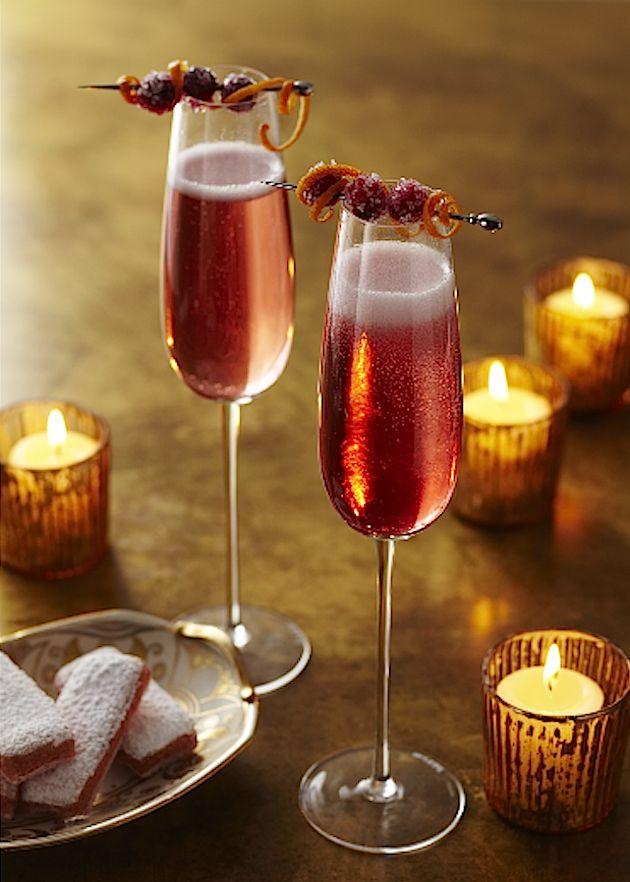 PAVAN Poinsettia Cocktail | Romantic Meals for Two | Pinterest
