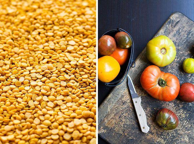 Tomato dal with green tomato chutney | Recipes | Pinterest