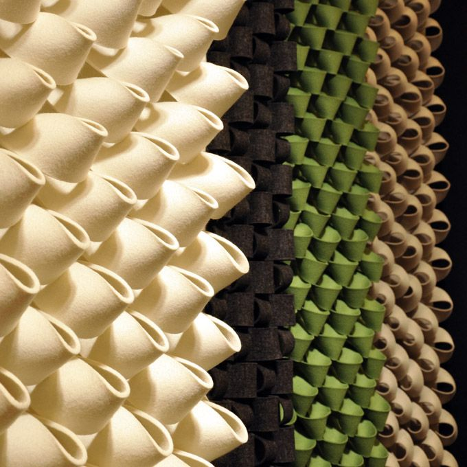 Textures Acoustic Felt Wall Panels Materiautheque