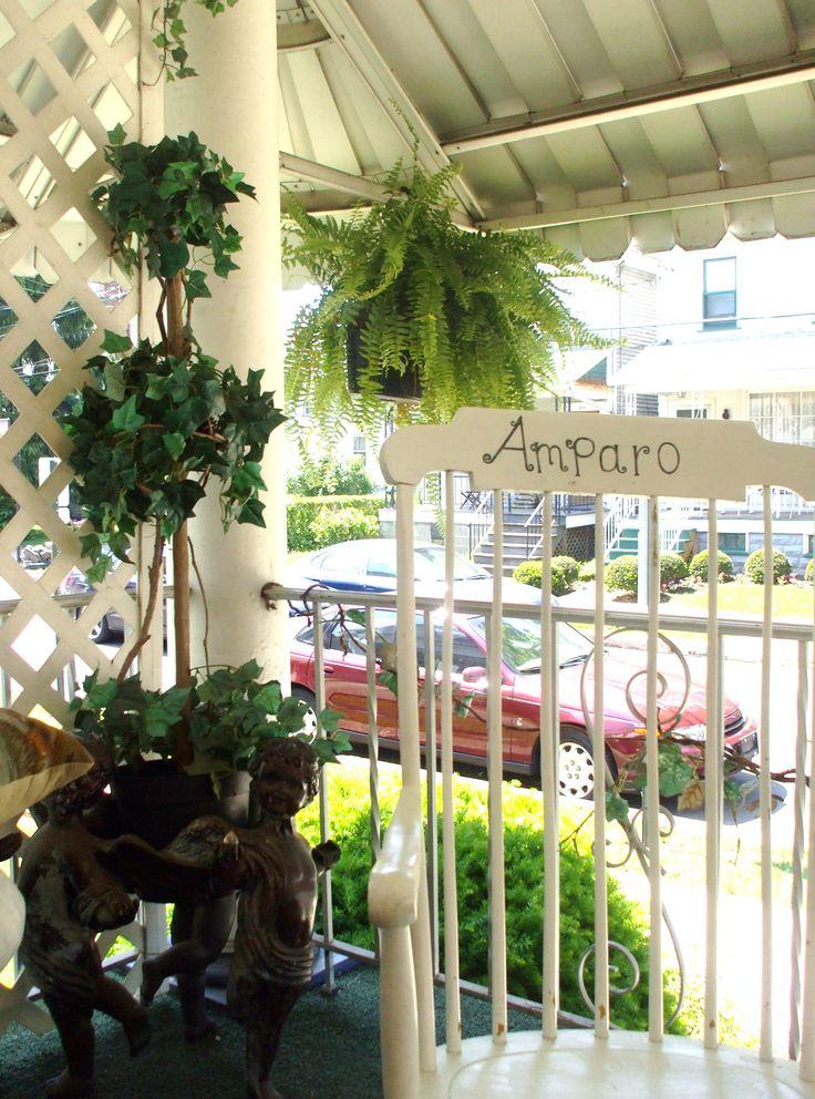 front porch decor | Porch Ideas | Pinterest