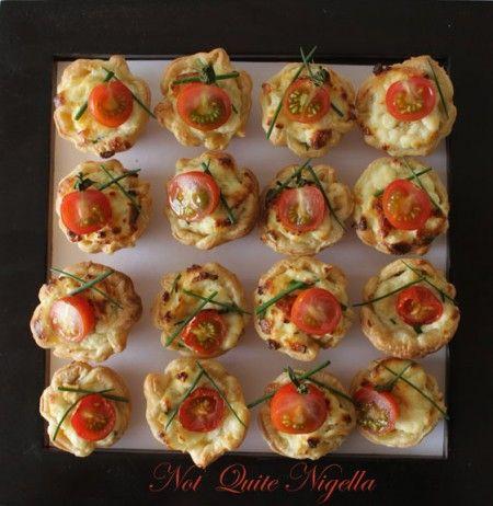 Ricotta, Chive and Tomato Mini Tarts from Not Quite Nigella a-ricotta ...