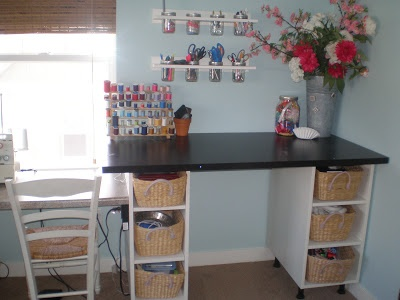 craft room made from ikea furniture crafty spaces