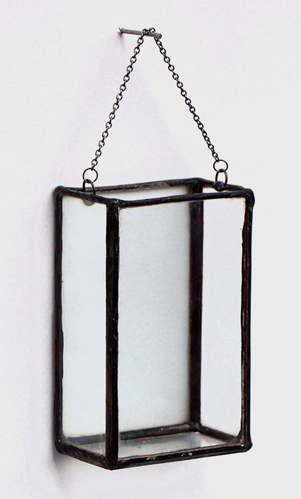 Rectangle Hanging Glass Planter Interior Pinterest