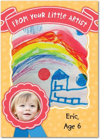 Growing Artist - Hallmark Greeting Cards in Cream   Hallmark