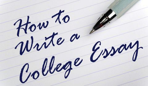 How to choose a topic for a college-application essay