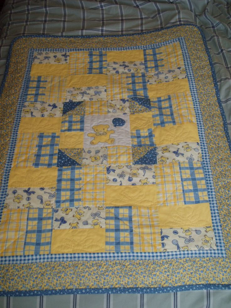 baby quilt My quilts Pinterest