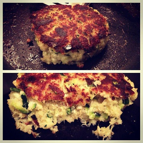 Trader Joe's Recipe - Zucchini Quinoa Burgers