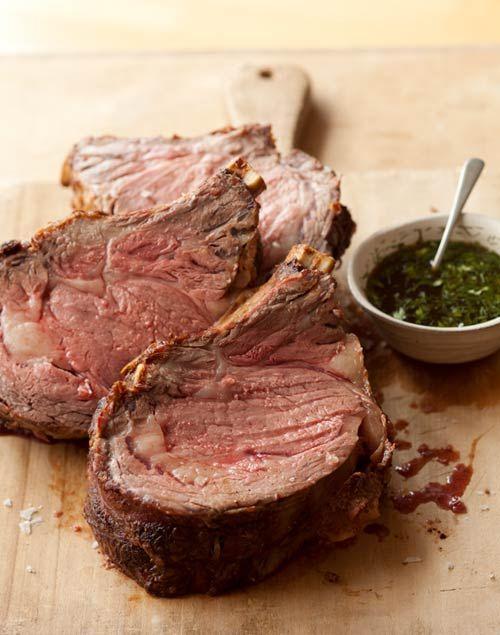 Standing Rib Roast Recipe | Leite's Culinaria-fantastic! # ...