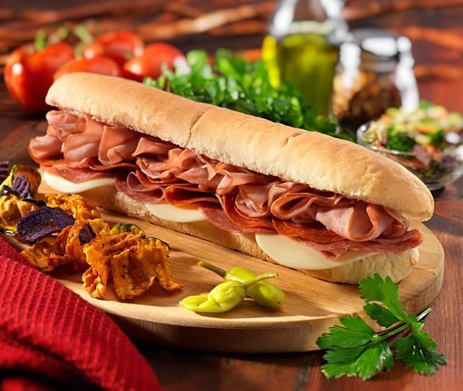Deli Italian Sub Sandwich | Munchies | Pinterest