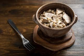 Turkey and Mushroom Risotto | Recipe