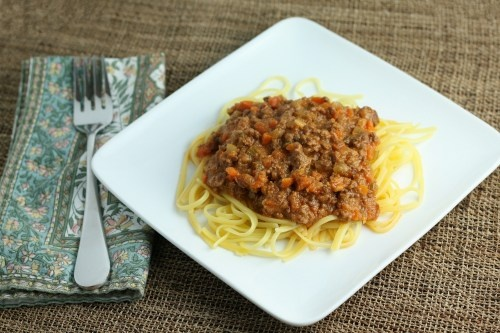 classic ragu bolognese | fun foods for grandkids | Pinterest