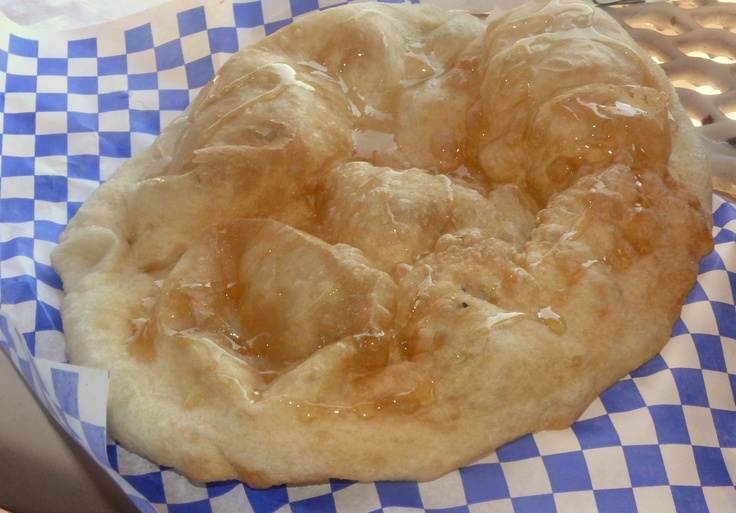 Indian Fry Bread with Honey | Culture: New Mexico | Pinterest