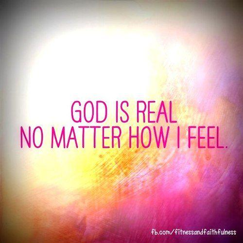 God is real   God Love...