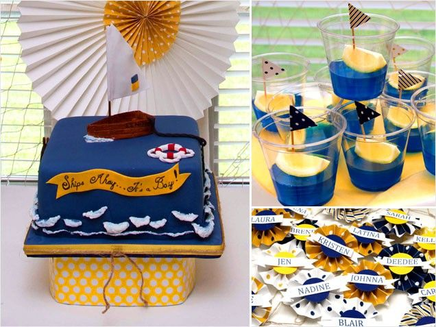 baby shower themes nautical theme baby shower pinterest