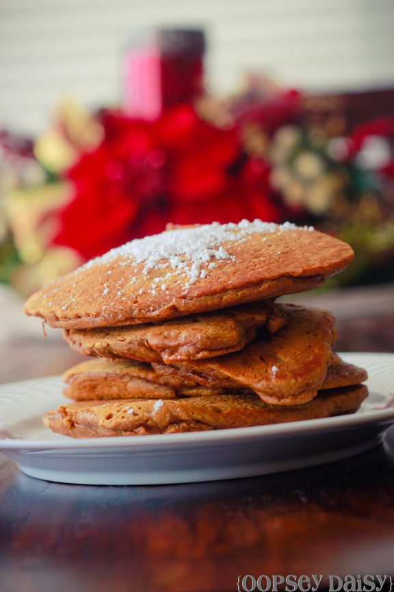 Gingerbread Pancakes...:) | Food + Wine | Pinterest