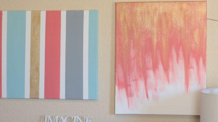 diy painted canvas wall art katie brown workshop diy pinterest