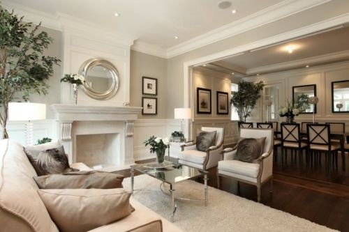 Neutral Elegant Living Room Benvenuto Accueil Home
