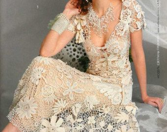 Irish lace wedding fashion